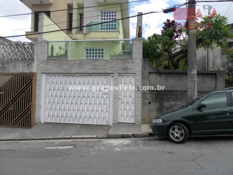 Sobrado residencial à venda, Parque São Lucas, São Paulo - SO0079.