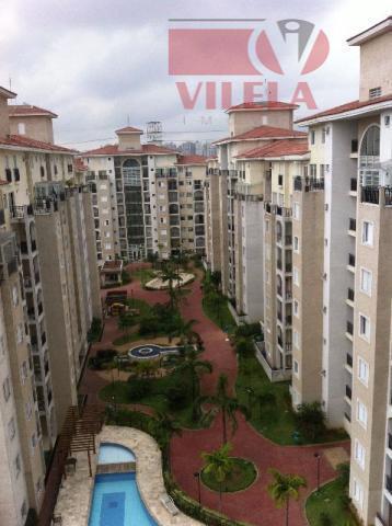 Apartamento residencial à venda, Vila Alpina, São Paulo - AP0627.