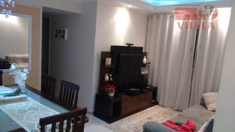 Apartamento residencial à venda, Vila Ema, São Paulo - AP0631.