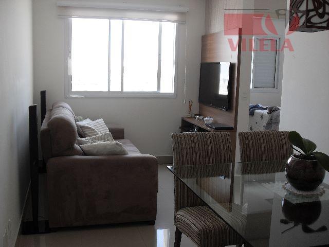 Apartamento residencial à venda, Mooca, São Paulo - AP0656.