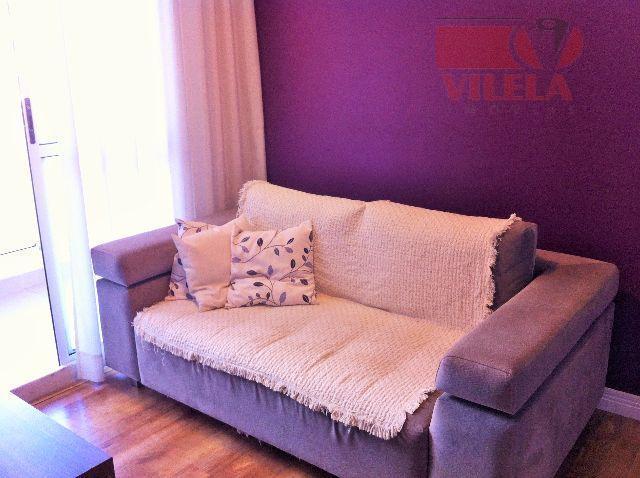 Apartamento residencial à venda, Vila Ema, São Paulo - AP0664.