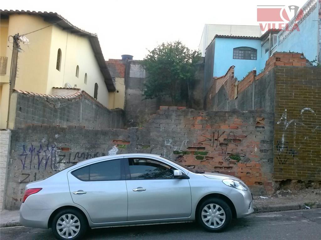 Terreno residencial à venda, Vila Industrial, São Paulo - TE0037.