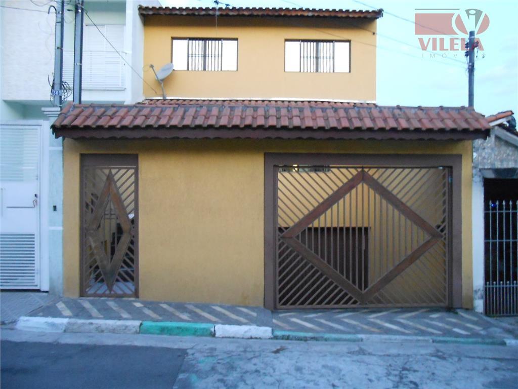 Casa residencial à venda, Vila Ema, São Paulo - CA0210.