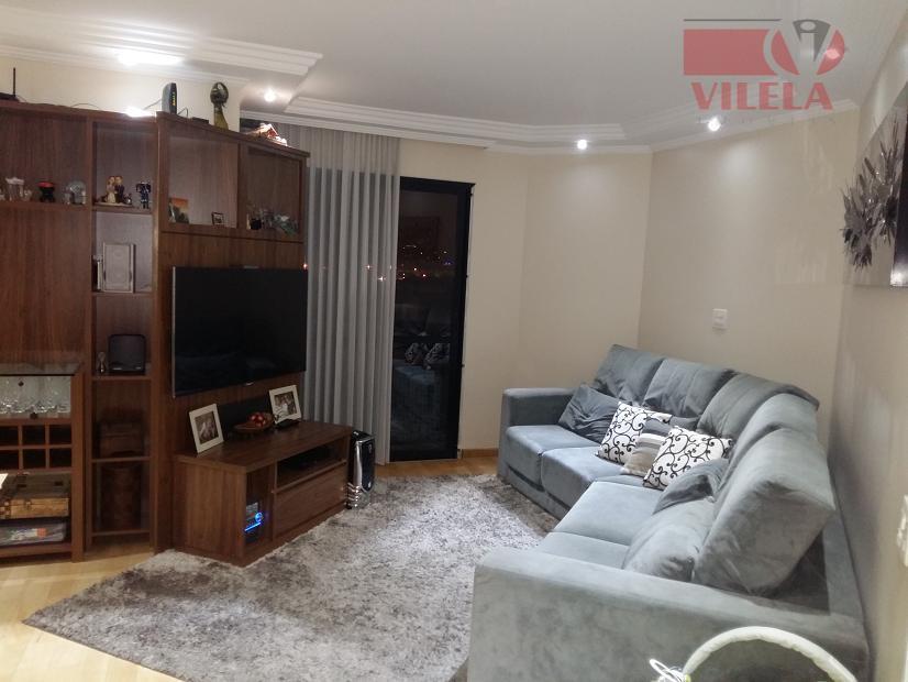 Apartamento residencial à venda, Vila Zelina, São Paulo - AP0727.