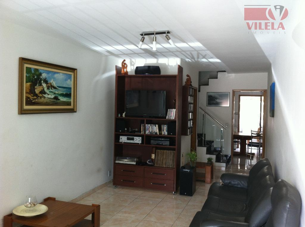 Sobrado residencial à venda, Parque São Lucas, São Paulo - SO0512.