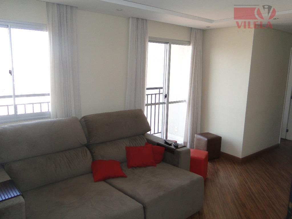 Apartamento residencial à venda, Vila Ema, São Paulo - AP0802.