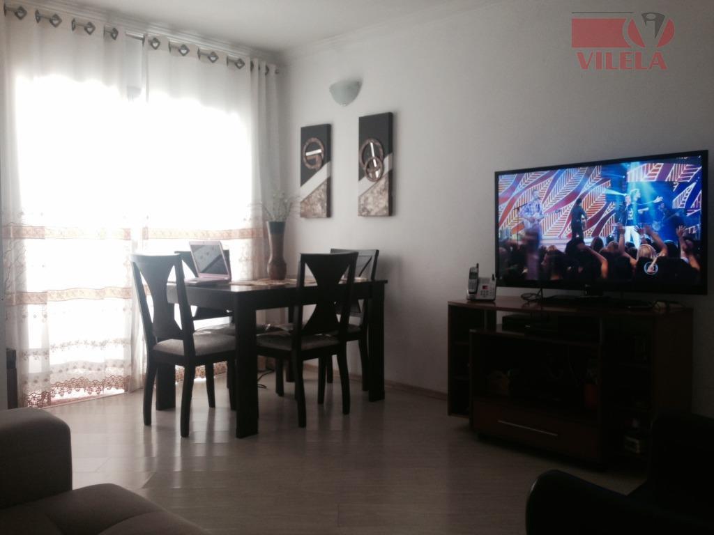 Apartamento residencial à venda, Vila Ema, São Paulo - AP0828.