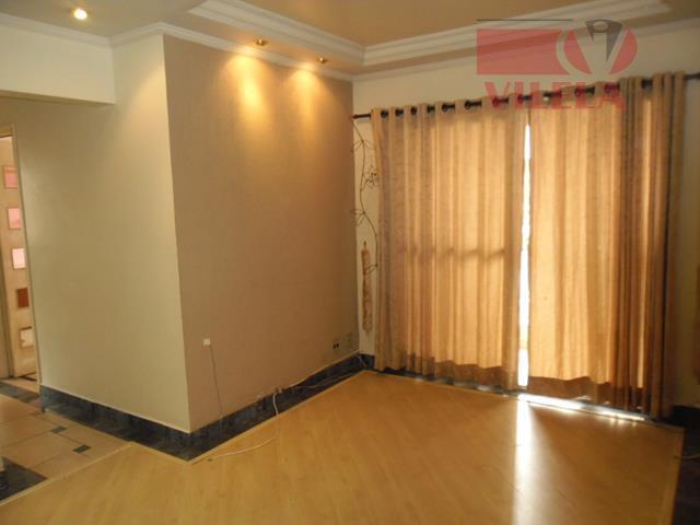 Apartamento residencial à venda, Vila Ema, São Paulo - AP0855.