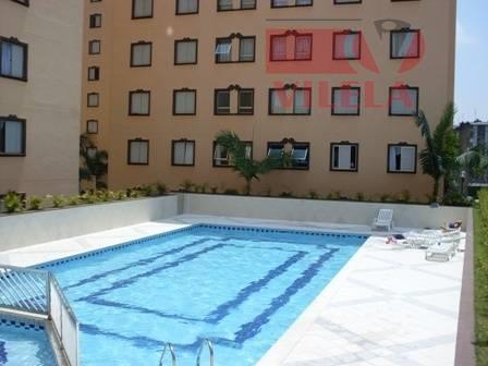 Apartamento residencial à venda, Vila Industrial, São Paulo - AP0885.