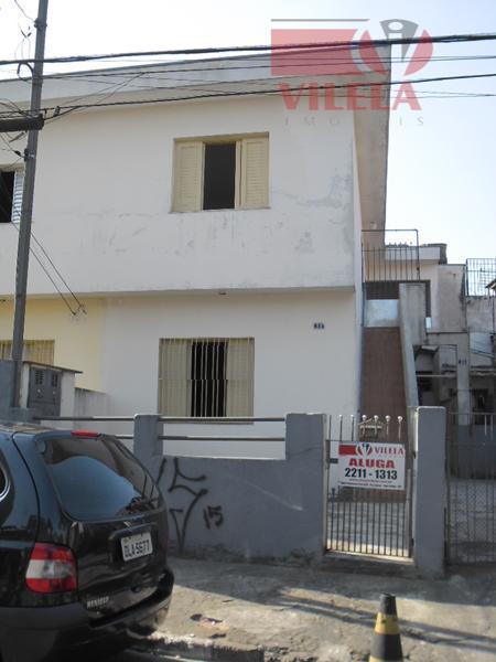 Casa residencial para locação, Vila Industrial, São Paulo - CA0328.