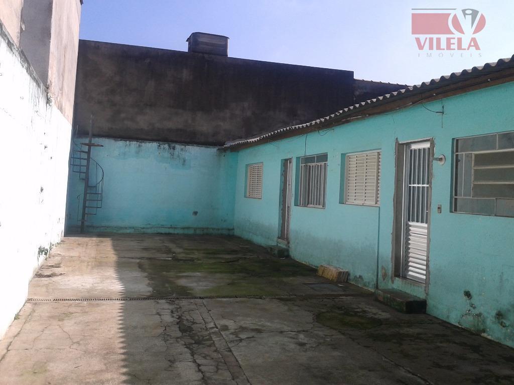 Casa residencial para locação, Chácara Belenzinho, São Paulo - CA0345.