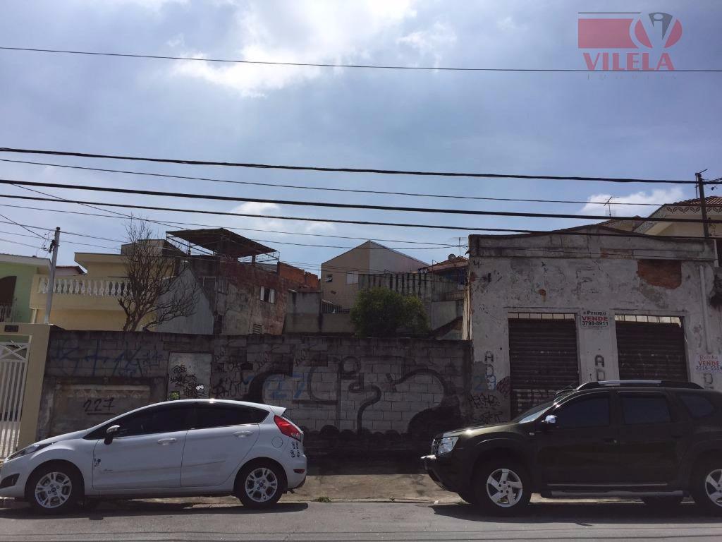Terreno residencial à venda, Vila Formosa, São Paulo.
