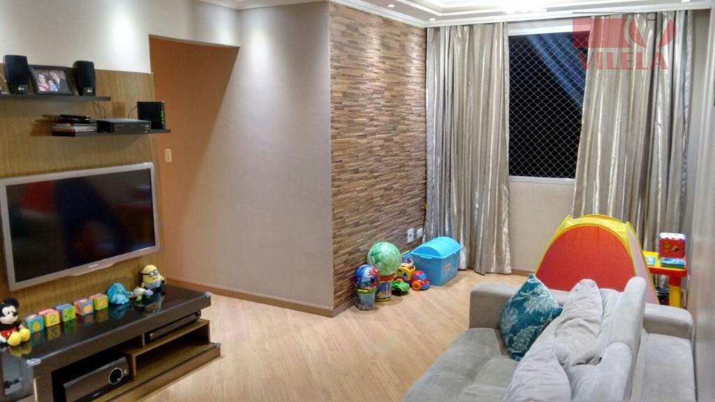 Apartamento residencial à venda, Jardim Independência, São Paulo - AP1410.