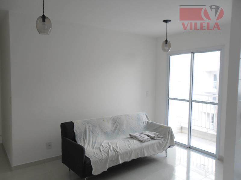 Apartamento residencial para locação, Vila Ema, São Paulo - AP1574.