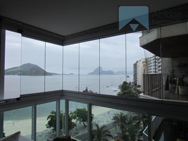 Excelente apartamento residencial à venda, Icaraí, Niterói.