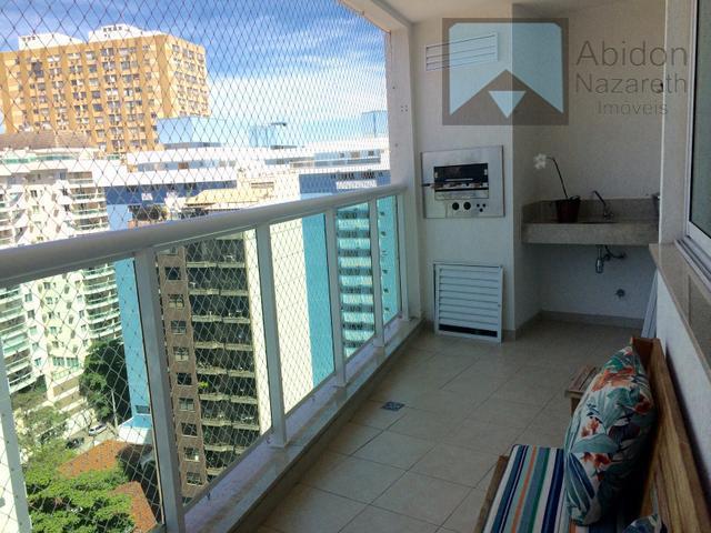"""prédio novo magnífico apartamento """"""""decorado e montado"""""""" frente c/vistão livre """"andar alto"""" salão 2 varandas (sendo..."""
