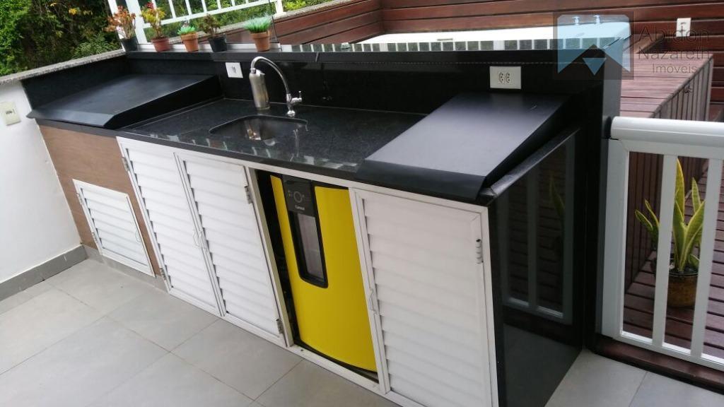 magnífica cobertura linear, único condomínio com captação de energia solar para as unidades , integrado a...
