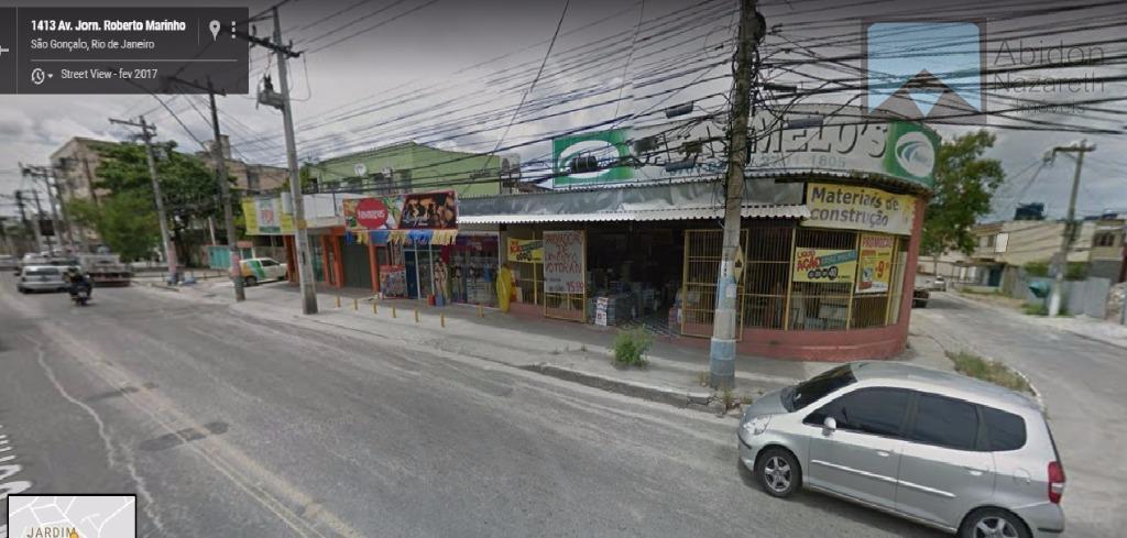 Terreno comercial à venda, Jardim Fluminense, São Gonçalo.