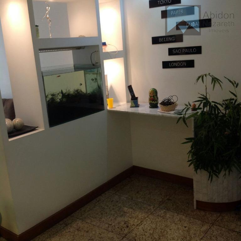 """apartamento em excelente prédio """"super montado/decorado"""" sol manhã (r. 5 de jlulho prox c.s.bento) varandão salão..."""