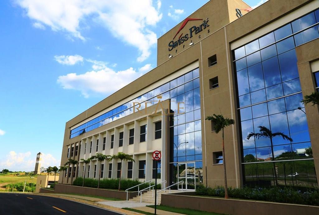 Sala comercial à venda, Condomínio Swiss Park, Campinas - SA0040.