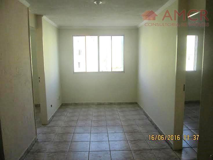 apartamento com 3 dormitórios, sala, cozinha com armários, banheiro, área de serviço e 1 vaga de...