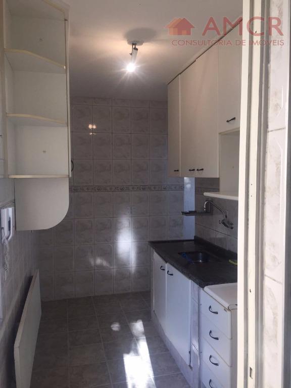 lindo apartamento, com 2 dormitórios, sala, cozinha, wc social com box, vaga de garagem, condomínio totalmente...
