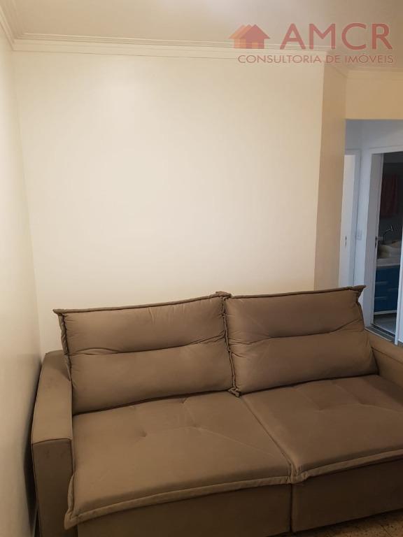 apartamento novo reformado, com 2 dormitórios,um deles com planejados, sala para 2 ambientes com sacada, cozinha...