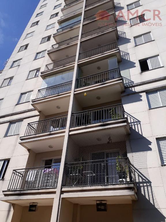 Lindo apartamento no Tatuapé, região nobre, 2 dorm, 1 suíte, 1 vaga, 58 m², próx. ao Parque do Piqueri
