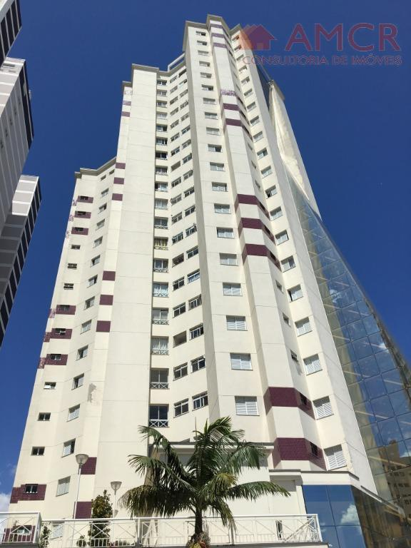 Incrível apartamento Cond. Orion, 57 m², 1 dorm. com closet (reversível 2 dorm.), 1 vaga coberta, armários, piscina, churrasqueira, shopping, permuta