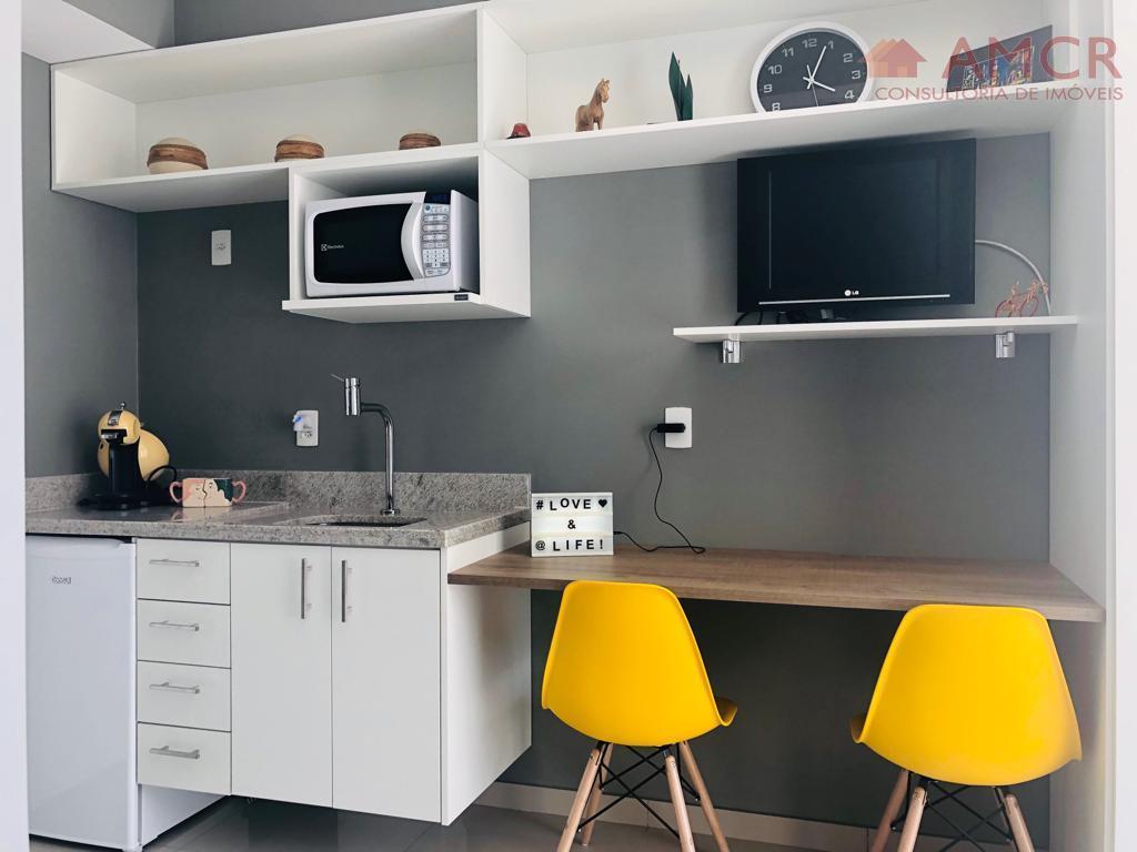 Studio mobiliado Downtown Luz, 22m², 1 dorm, sem vaga, lazer completo e mobilidade total