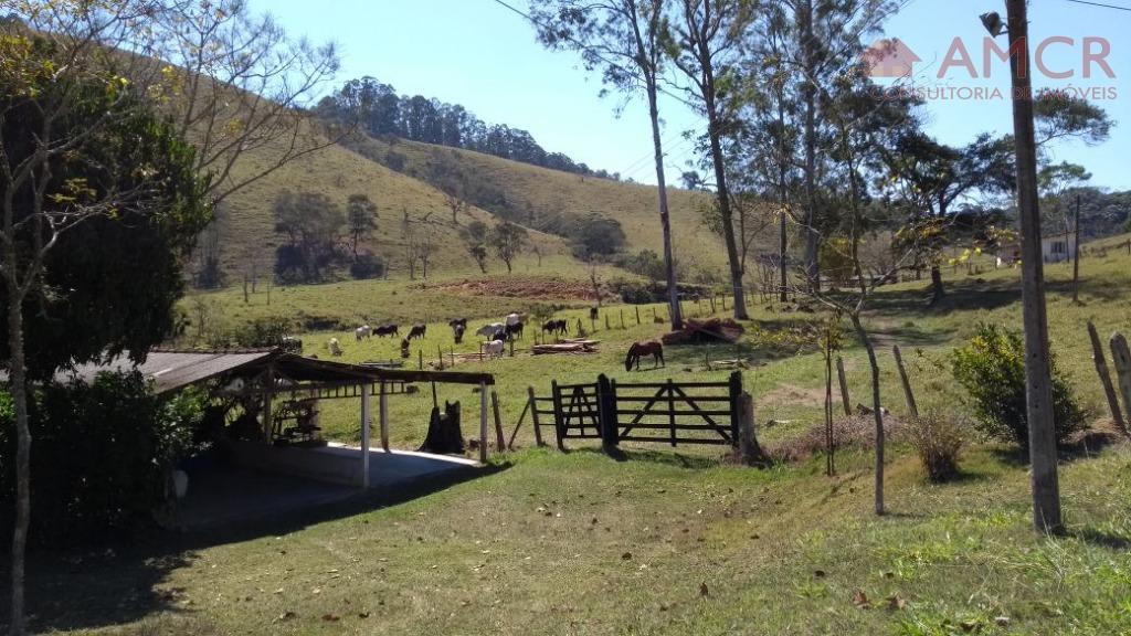 PORTEIRA FECHADA!! Maravilhoso sítio de 15 alqueires, piscina, pomar, animais, permuta SJC