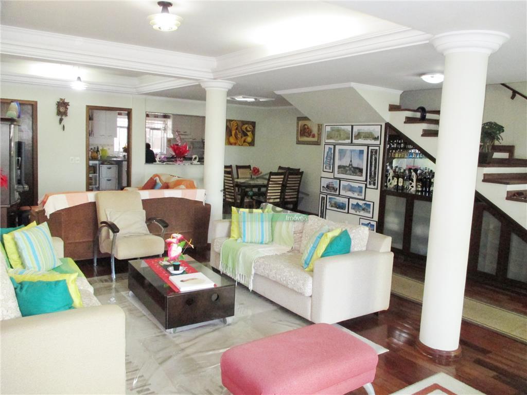 maravilhoso sobrado com 3 suítes com varanda, closet, sala com 4 ambs, copa, cozinha, despensa, área...