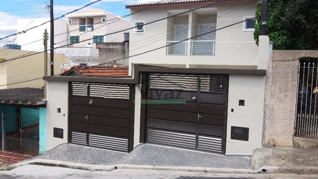 Sobrado residencial à venda, Vila Nova Mazzei, São Paulo - SO1026.