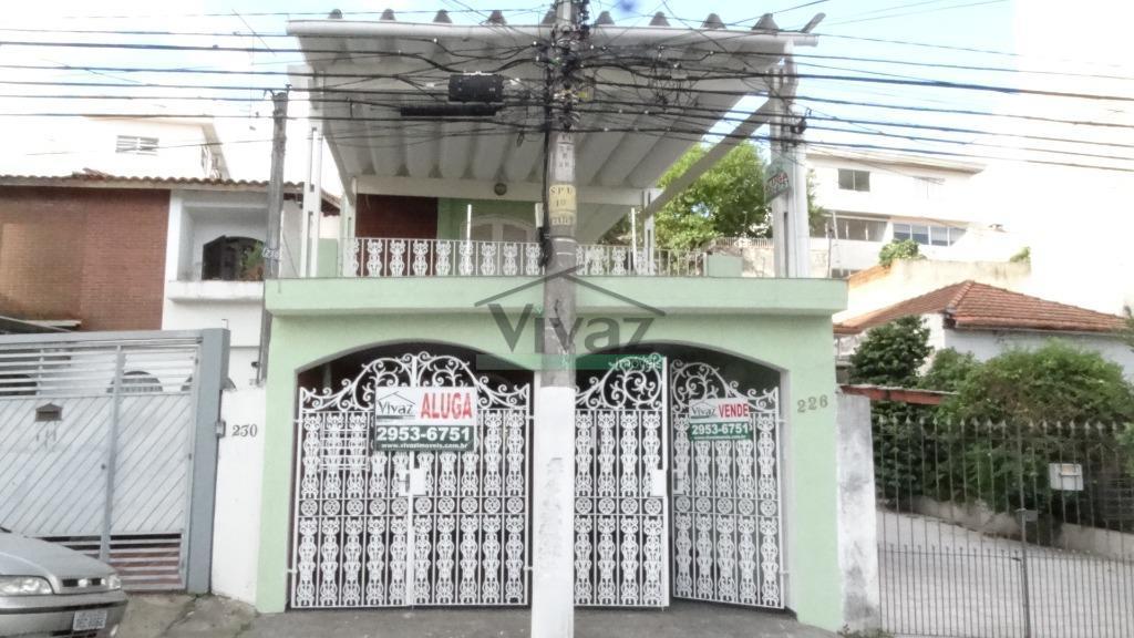 Sobrado residencial para venda e locação, Tucuruvi, São Paulo.
