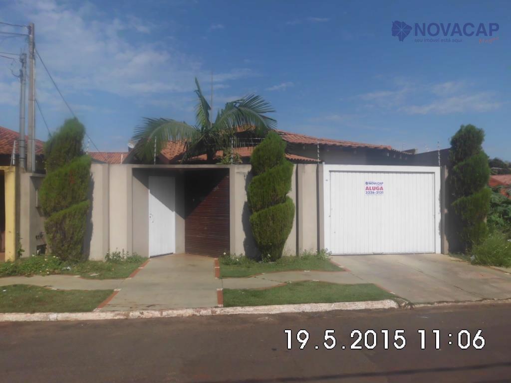 Casa residencial para venda e locação, Carandá Bosque, Campo Grande - CA0276.