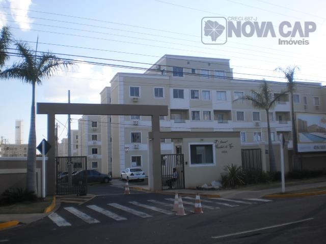Apartamento residencial para venda e locação, Tiradentes, Campo Grande - AP0615.
