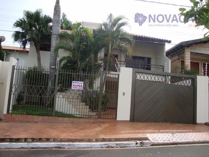 Sobrado residencial para locação, Jardim Bela Vista, Campo Grande.