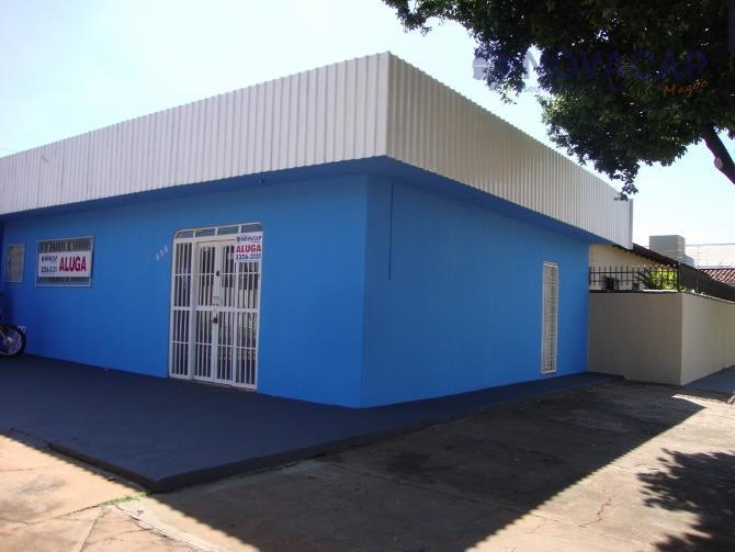 Salão comercial para locação, Vila Rica, Campo Grande - SL0013.