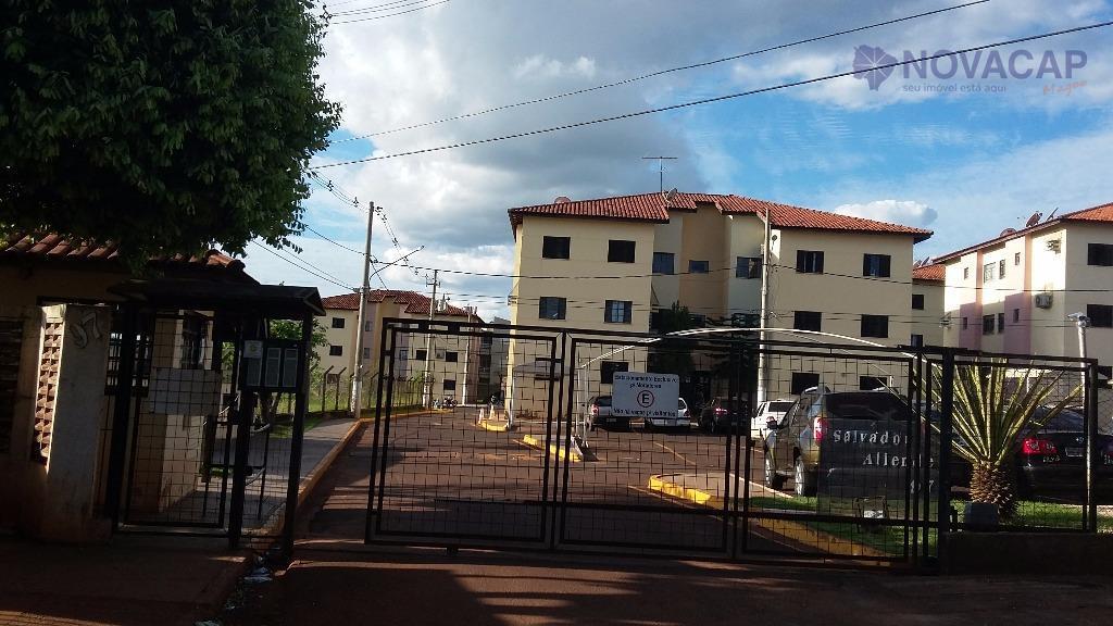 Apartamento  residencial à venda, Monte Castelo, Campo Grande.