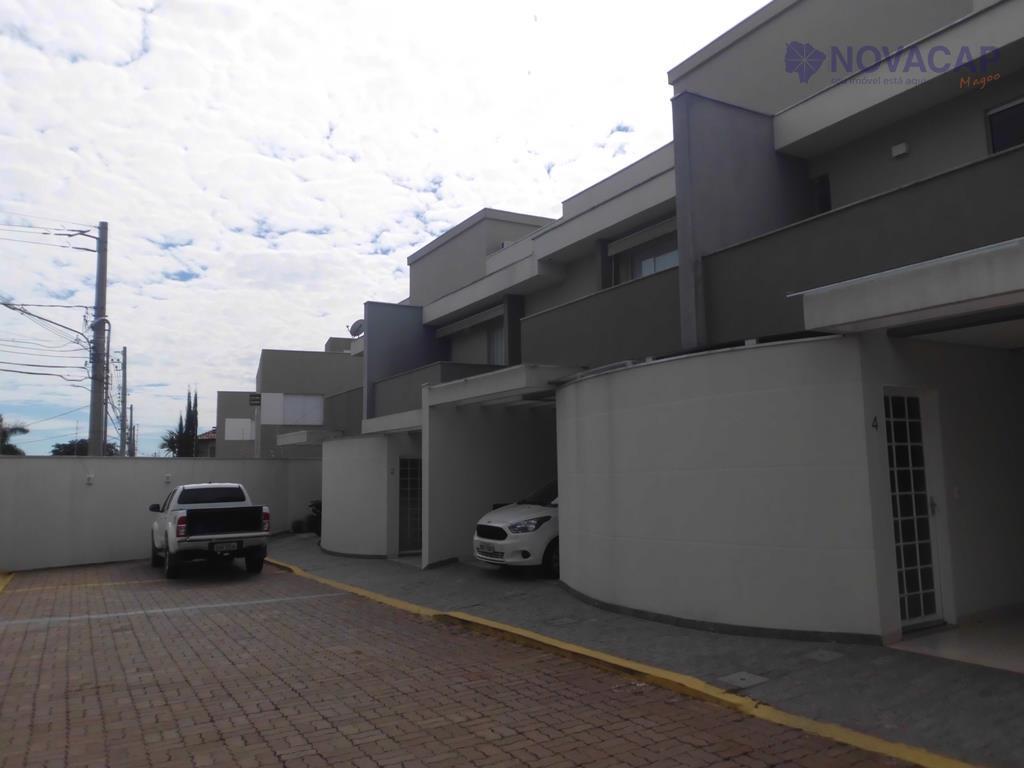 Sobrado residencial à venda, Chácara Cachoeira, Campo Grande - SO0089.