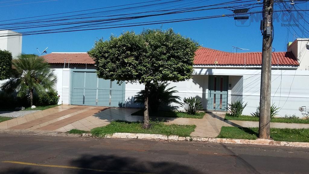 Casa residencial para venda e locação, Monte Castelo, Campo Grande - CA0449.