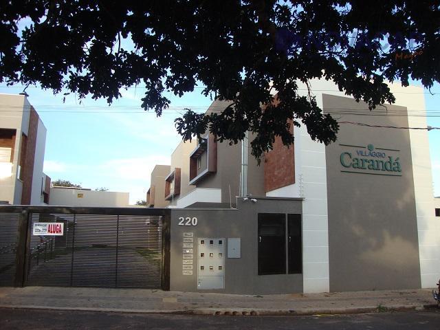 Sobrado residencial Villagio Caranda para locação, Carandá Bosque, Campo Grande.
