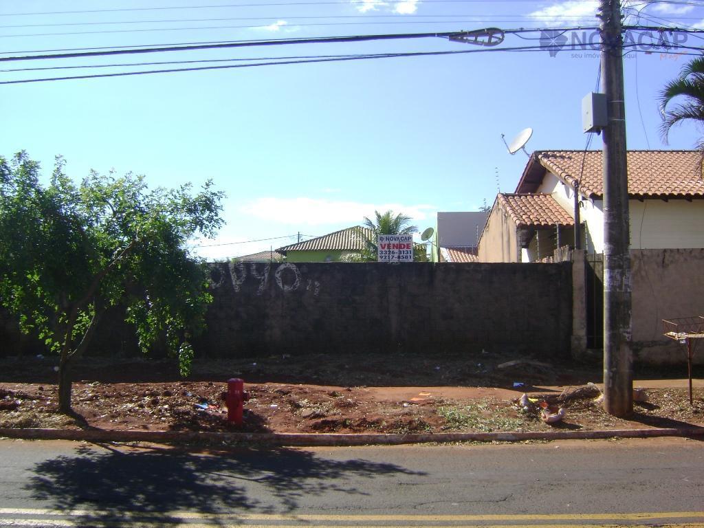 Terreno residencial à venda, Carandá Bosque, Campo Grande - TE0082.