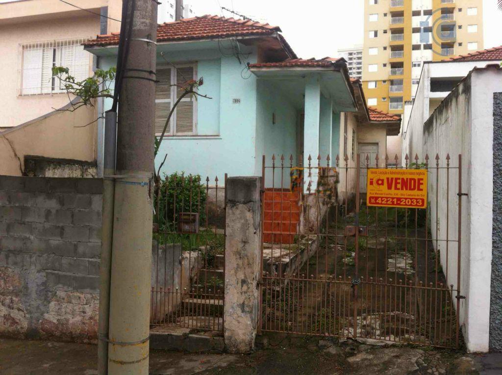 Terreno  residencial à venda, Santa Paula, São Caetano do Sul.
