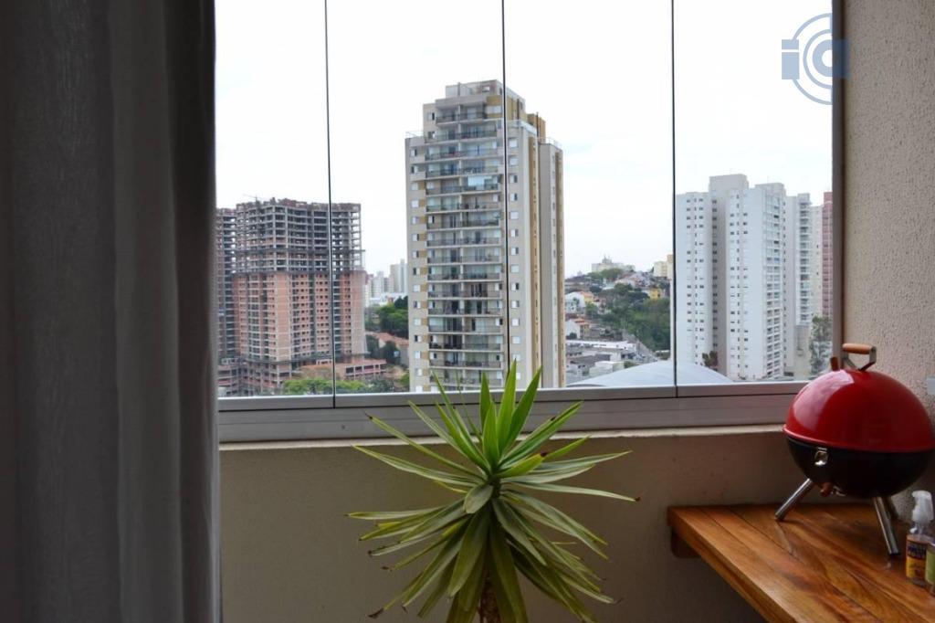 Apartamento  residencial para locação, Vila Baeta Neves, São Bernardo do Campo.