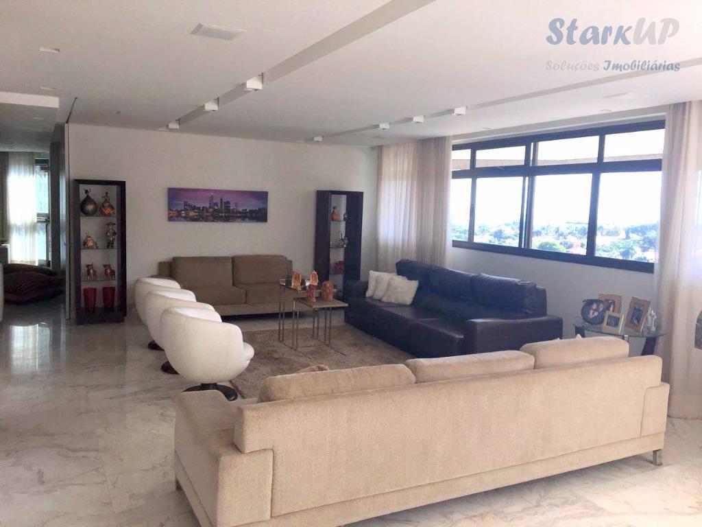 Apartamento residencial à venda, Belvedere, Belo Horizonte - AP0072.