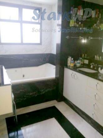 apartamento de luxo 4 quartos 6 vagas 600m²1,7 km do bh shopping. apartamento de luxo decorado;...