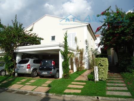 Sobrado residencial à venda, Tamboré Villaggio 04, Santana de Parnaíba.