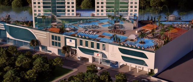 Único empreendimento dentro de uma Marina, possuindo 4 suítes com 3 vagas de garagens e uma área de lazer completa.