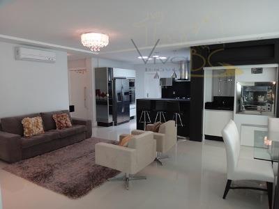 Excelente Apartamento 3 Suites, Novo, Quadra Mar - Barra Sul - Balneário Camboriú
